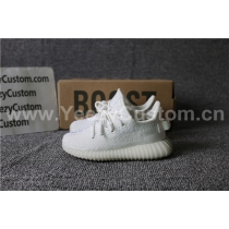 Authentic Adidas Yeezy 350 Boost Cream White Infrant Shoes