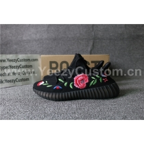 Authentic Adidas Yeezy 350 Boost V2 Black Rose