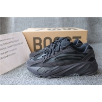 Authentic Adidas Yeezy Boost 700 Runner Triple Black Men Shoes