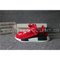 Authentic Pharrell x adidas NMD Human Race Red