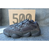Authentic Adidas Yeezy 500 Utility Black