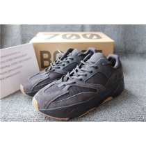Authentic Adidas Yeezy Boost 700 Utility Black Women Shoes