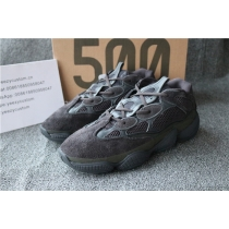 "Authentic Adidas Yeezy Desert Rat 500 ""Triple Black  Women"