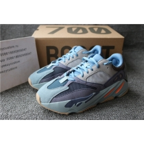 Authentic Adidas Yeezy Boost 700 Carbon Blue Women Shoes