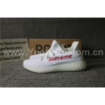 Authentic Adidas Yeezy Boost 350 White Supreme