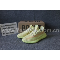 "Authentic Adidas Yeezy Boost 350 V2 ""Fluorescence Yellow  GS"