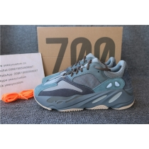 Authentic Adidas Yeezy Boost 700 Real Blue Men Shoes