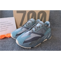 Authentic Adidas Yeezy Boost 700 Real Blue Women Shoes