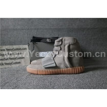 Authentic Adidas Yeezy Boost 750 Grey Gum