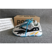 Authentic Adidas Kanye West Yeezy Wave Runner 700 University Blue