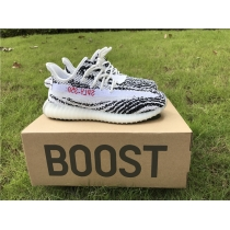 Authentic Adidas Yeezy 350 Boost Zebra Infrant Shoes