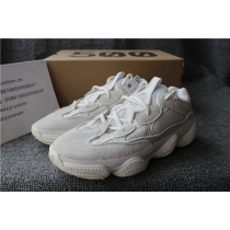 Authentic Adidas Yeezy Boost 500 Bone White Women Shoes