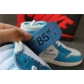 Authentic Air Jordan 1 UNC Off White