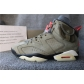 Authentic Travis Scott x Air Jordan 6 Medium Olive