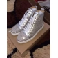 Super High End Christian Louboutin Flat Sneaker High Top(With Receipt) - 0161